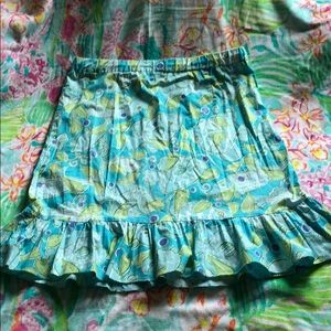 Lilly Pulitzer White Tag Fish skirt